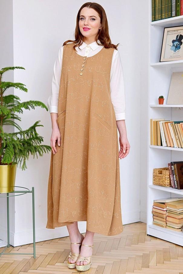 Купить Костюм с платьем 18-793-1